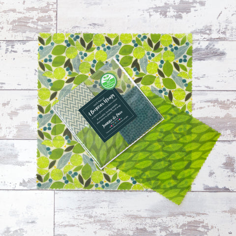 Beeswax Wraps - Lime Zest