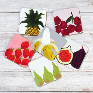 'Fruit Salad'  Coasters