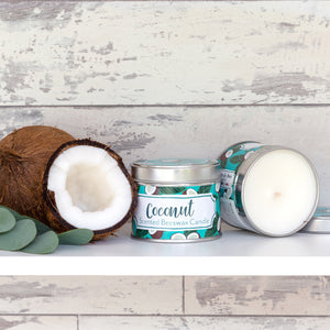 NEW 'Coconut' Scented Beeswax Candle