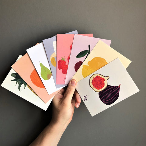 'Fruit Salad' Postcard Set