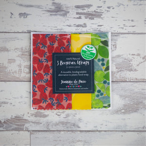 'Fruit Salad' Beeswax Wrap Trio Pack