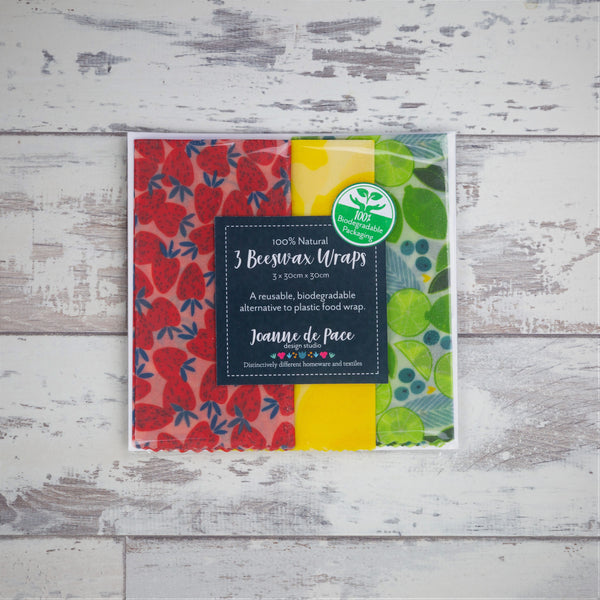 Beeswax Wrap Trio Pack
