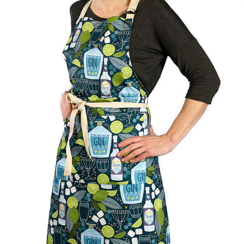 'Gin and Tonic' Apron