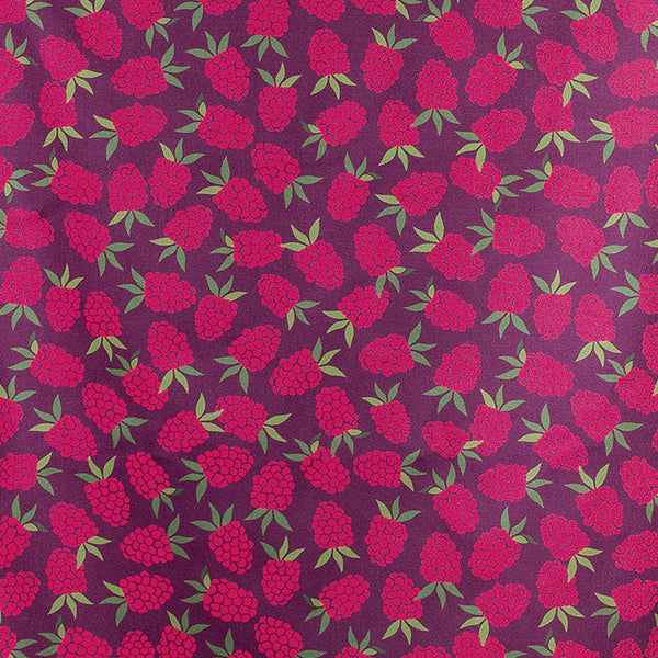 'Raspberry Pattern' Tea Towel