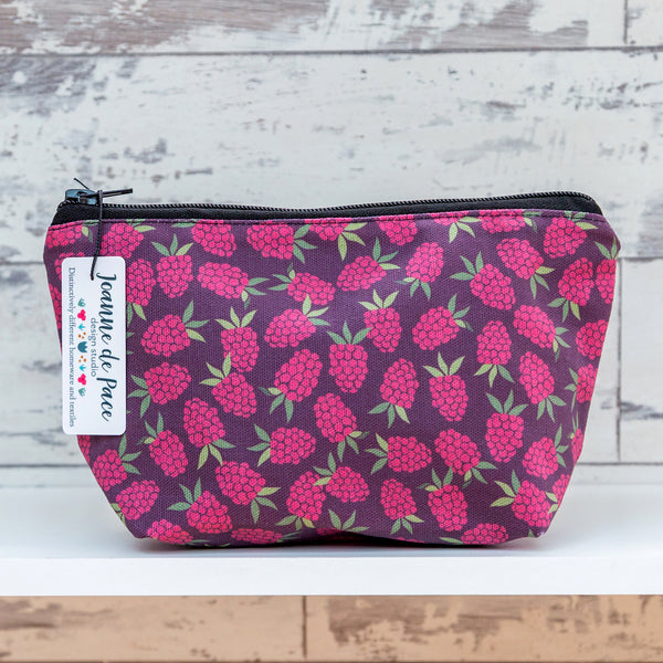 'Raspberry' Cosmetic Bag