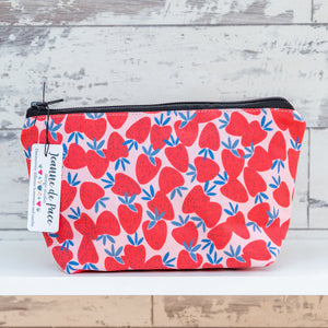 'Strawberry' Cosmetic Bag