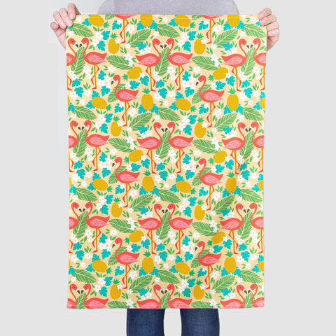 NEW 'Flamingo Pattern' Tea Towel