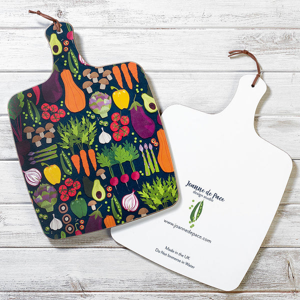 Vegetable Patch Kitchen Board