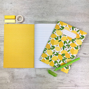 Lemon & Bees Notebook