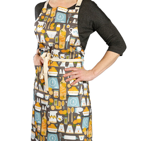 Lemon Kitchen Apron