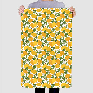 Lemon & Bees Tea Towel