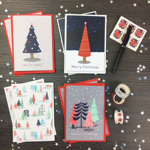 Nordic Nights Christmas Cards