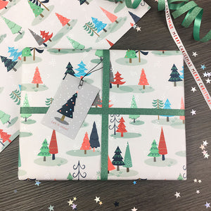 Nordic Nights Wrapping Paper