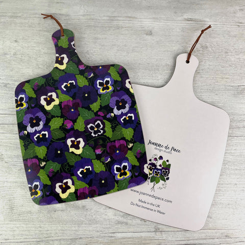 'Pansy Pattern' Kitchen Board