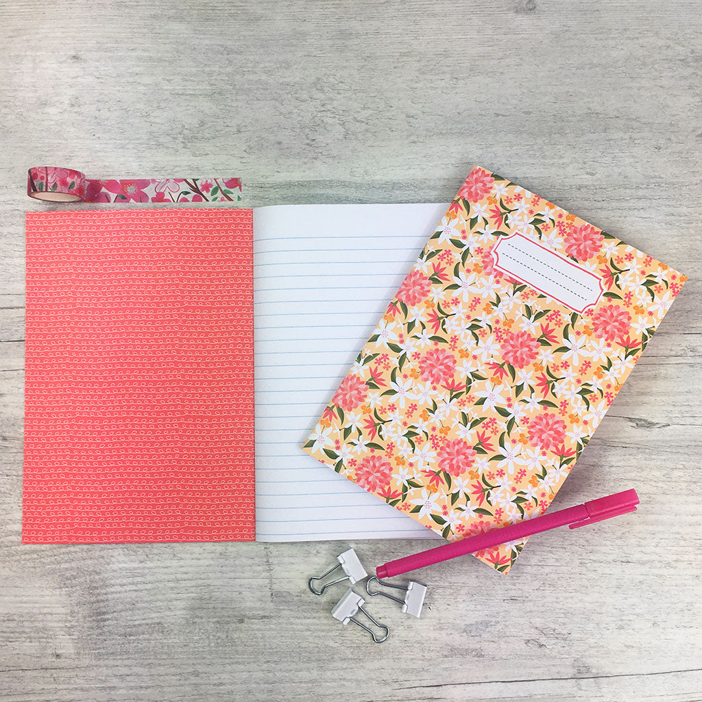 Peach Blossom Notebook