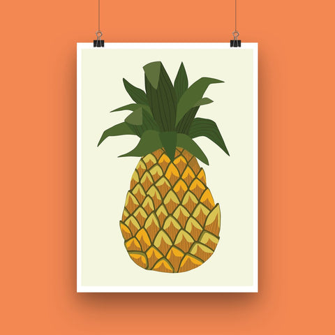 'Pineapple' Art Print