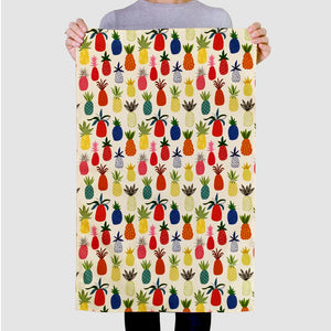 Pineapple Pattern Tea Towel