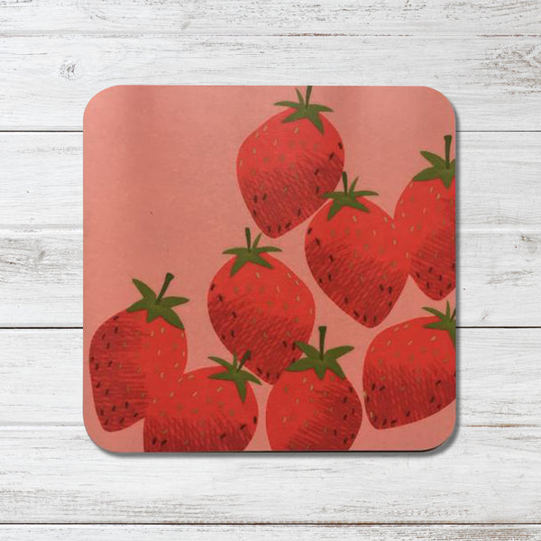 Strawberries Coaster