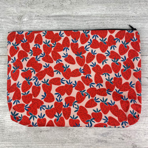 Sale Item: 'Strawberry Pattern' Wash Bag