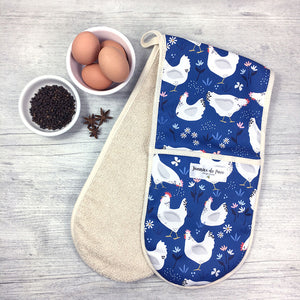 Sussex Hens Oven Gloves