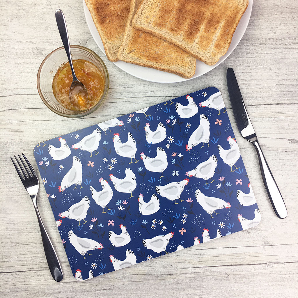 Sussex Hens Placemat