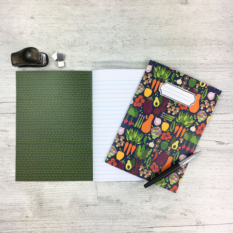 Vegetable Patch Notebook