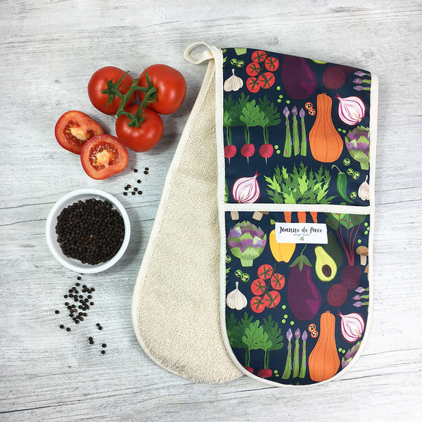 Vegetable Patch Oven Gloves