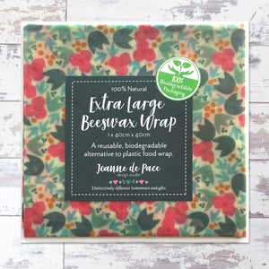 Blossom Pattern Extra Large Beeswax Wrap