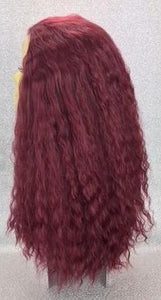 Home Perm in Summer Plum