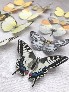Silk Butterfly Hair Clips - Choose your own colours