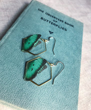 Semicolon Butterfly Earrings