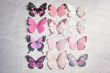 Pretty pink handmade butterflies by Flutter Designs