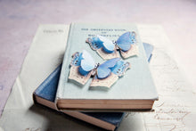 Handmade butterfly shoe clips by Flutter Designs
