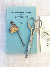 Handmade Monarch butterfly hair pin by Flutter Designs