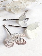 Flutter Designs butterfly hair pins