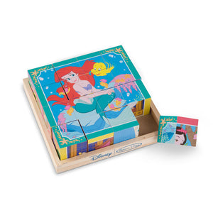 Disney Princess Wooden Cube Puzzle