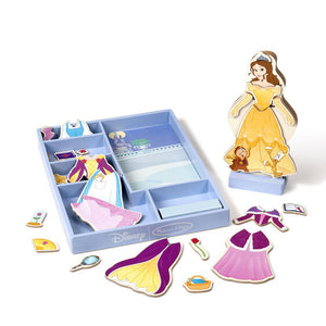 Belle Wooden Magnetic Dress-Up