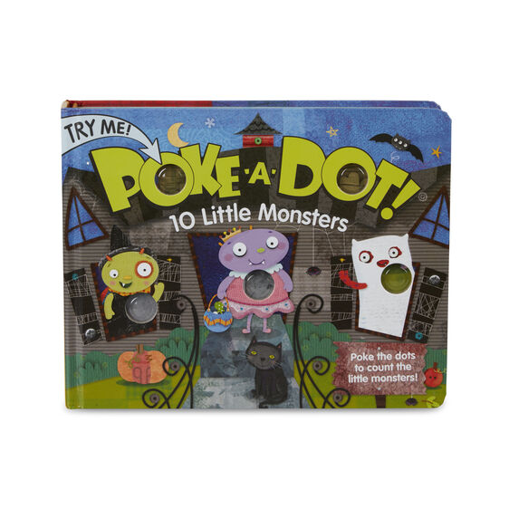 Poke-A-Dot: 10 Little Monsters