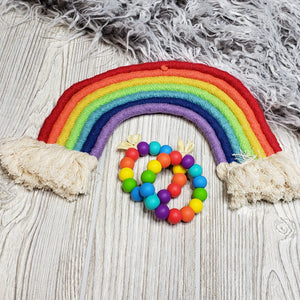 Silicone Teething Ring-Classic