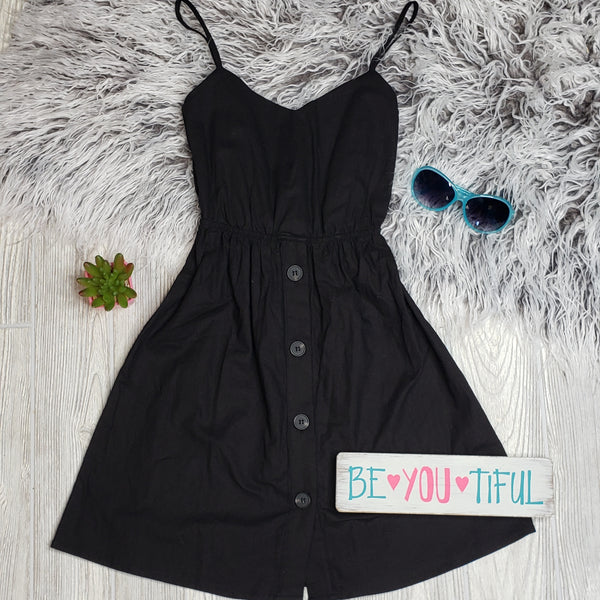 Peek-a-boo Back Dress
