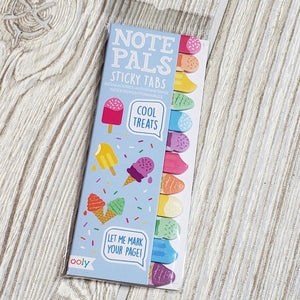 Ooly - note pals sticky tabs - cool treats