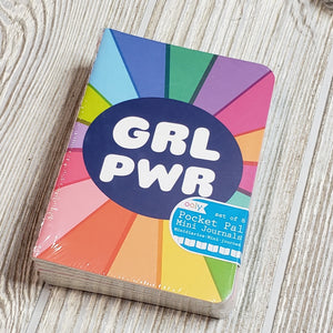 Ooly - grl pwr pocket pal journals - set of 8
