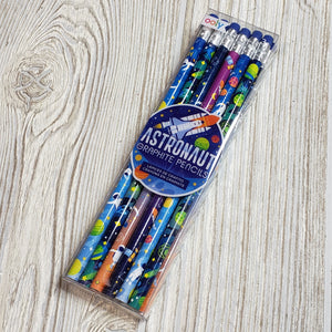Ooly - astronaut graphite pencils - set of 12