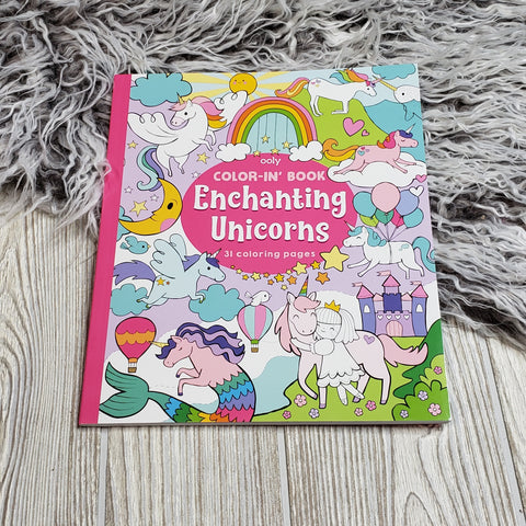 Ooly - enchanting unicorns coloring book