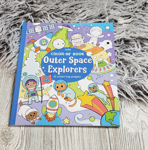 Ooly - outer space explorers coloring book