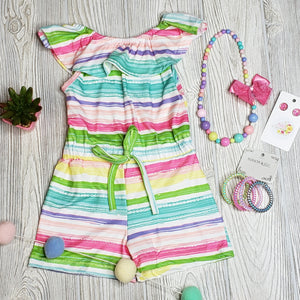 Rainbow Short Romper