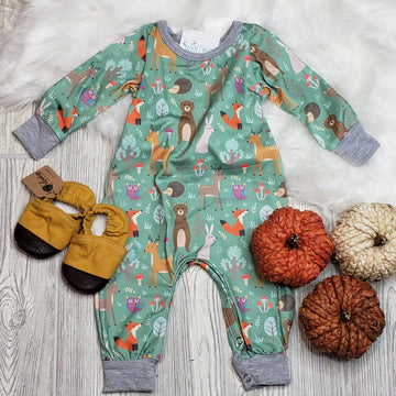 Forest Friends Infant Romper