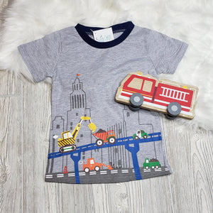 Zooming through Town Tee