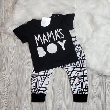 Mama's Boy Infant Outfit