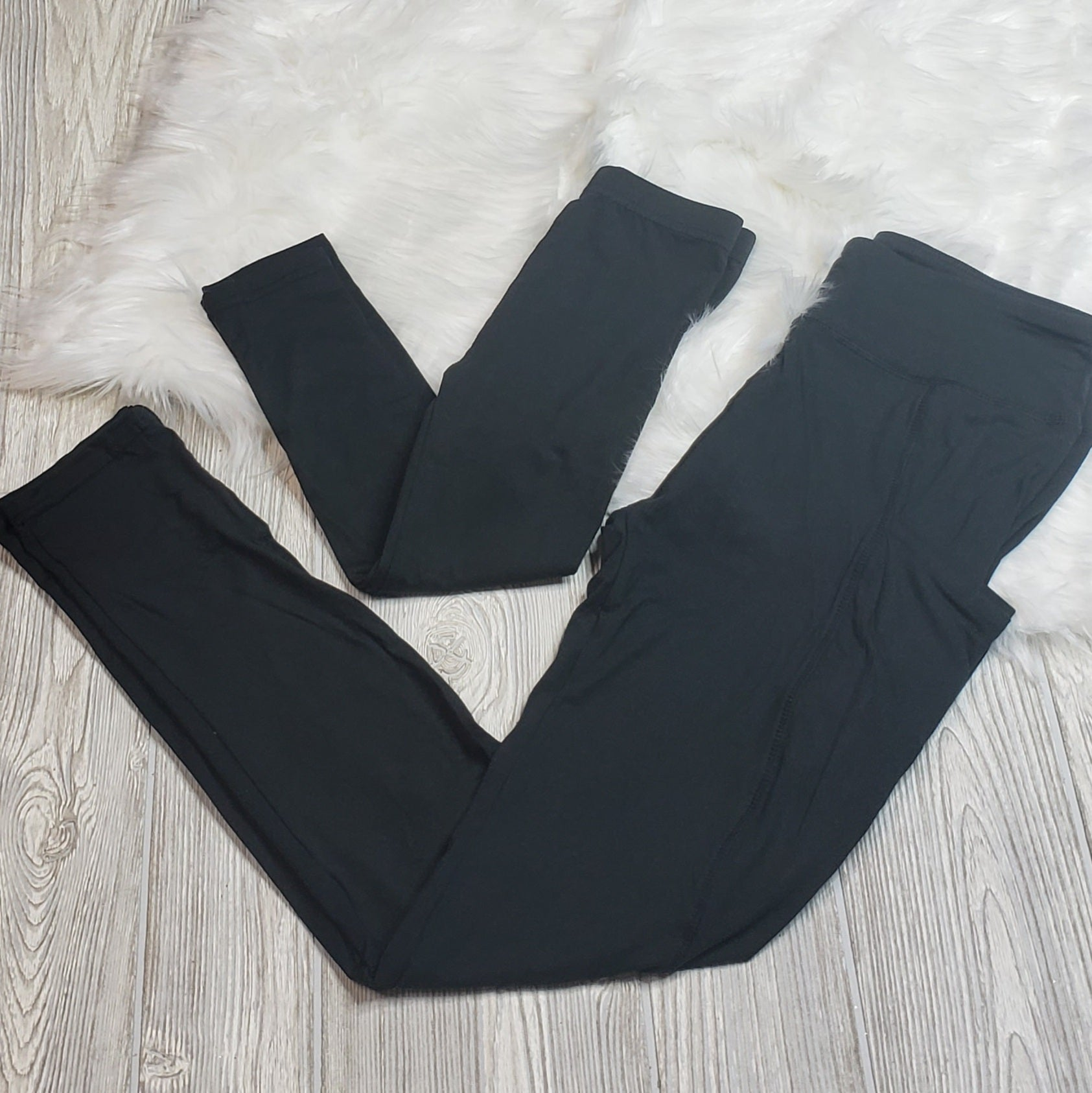 Mommy & Me Black Leggings